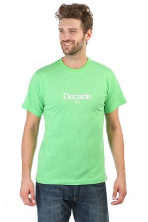 Футболка  345 Green Anteater. Цвет: зеленый