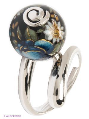 Кольцо Art Silver. Цвет: серебристый, черный