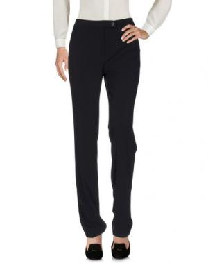 Повседневные брюки L.P. di L. PUCCI. Цвет: темно-синий