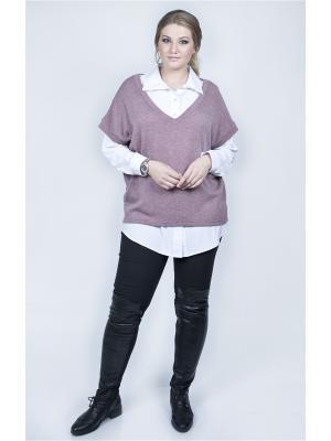 Пуловер SPARADA. Цвет: сиреневый