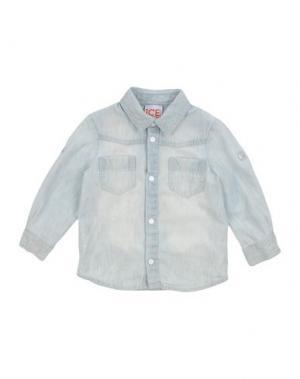 Джинсовая рубашка ICE ICEBERG BABY. Цвет: синий
