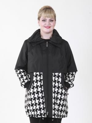 Пальто VIKO. Цвет: белый, черный