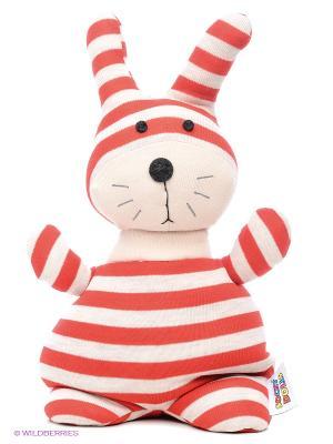 Игрушка-грелка Socky Dolls Кролик Банти Warmies. Цвет: красный, белый