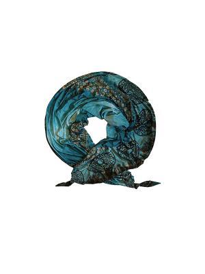 Платок Оланж Ассорти. Цвет: голубой