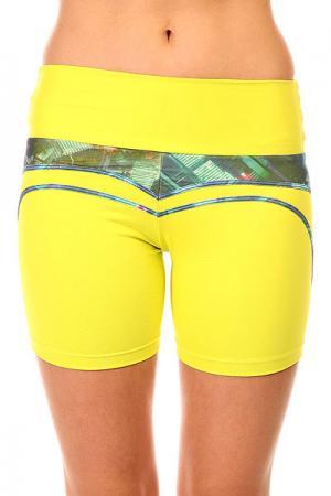Шорты пляжные женские  New Zealand Shorts Yellow CajuBrasil. Цвет: желтый