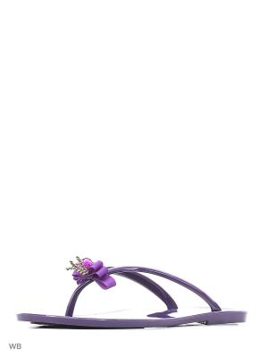 Пантолеты Mon Ami. Цвет: фиолетовый