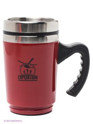 Кружка  Первой помощи Экспедиция. Цвет: красный, черный
