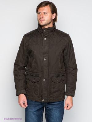 Куртка S4. Цвет: темно-коричневый