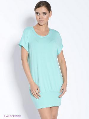 Платье-туника DOCTOR E. Цвет: бирюзовый