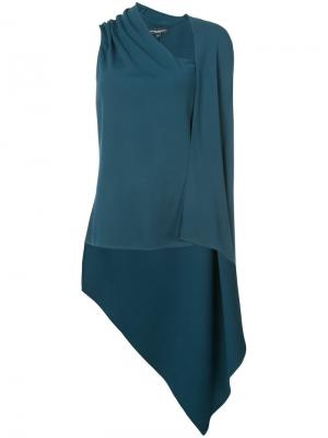 Asymmetric top Narciso Rodriguez. Цвет: зелёный