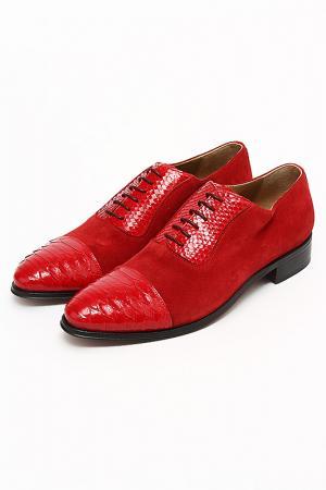 Туфли Bouton. Цвет: красный