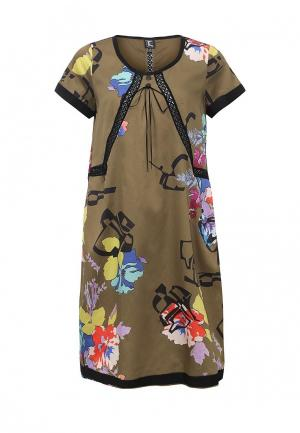 Платье Tricot Chic. Цвет: бежевый