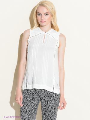 Блузка 18CRR81 CERRUTI. Цвет: белый