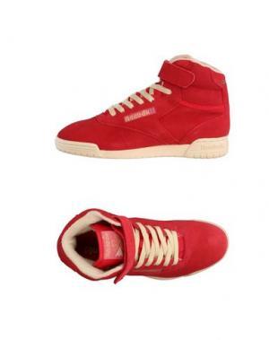 Высокие кеды и кроссовки REEBOK. Цвет: красный