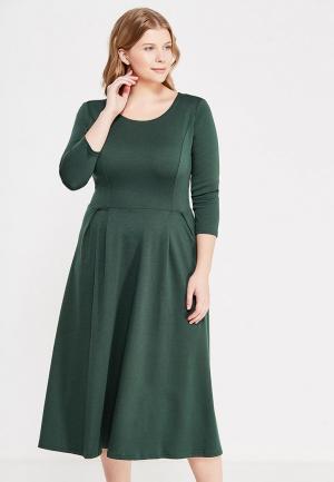 Платье S&A Style. Цвет: зеленый