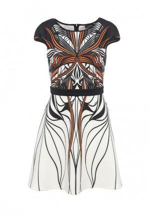 Платье Byblos. Цвет: белый