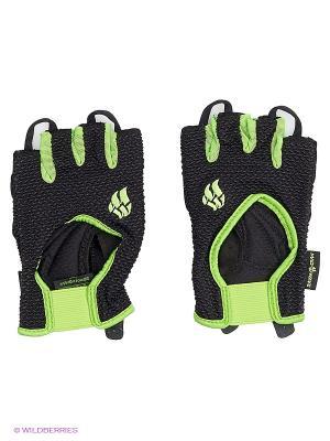 Перчатки для фитнеса Womens Training Gloves Mad Wave. Цвет: черный