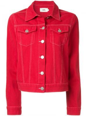 Куртка Earth Layers Vale. Цвет: красный