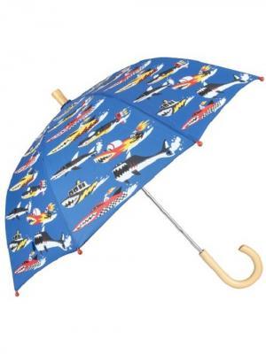 Зонты HATLEY. Цвет: синий