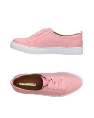 Низкие кеды и кроссовки MARIA MARE. Цвет: розовый