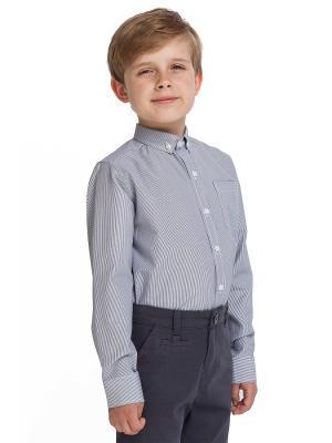 Рубашка VILATTE. Цвет: черный, белый