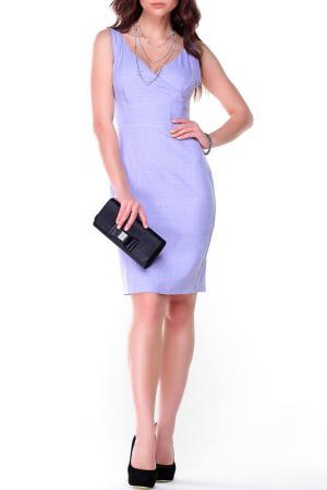 Платье-сарафан Dioni. Цвет: светло-фиолетовый