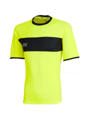 Футболка игровая Line 2K. Цвет: желтый, черный