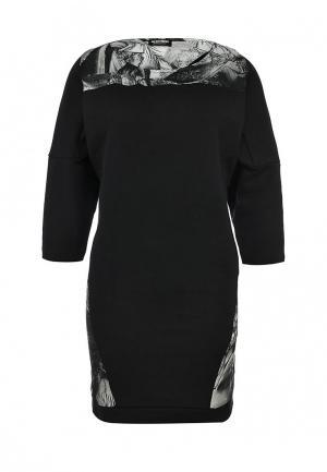 Платье Bikkembergs. Цвет: черный