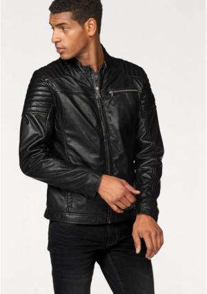 Кожаная куртка Maze. Цвет: коньячный, черный