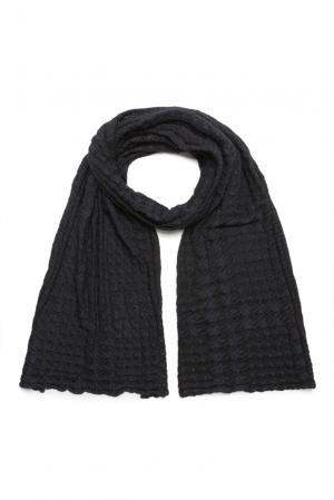 Кашемировый шарф с шелком 159459 Zilli. Цвет: синий