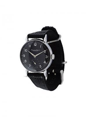 Механические часы Schaffhausen Iwc. Цвет: чёрный