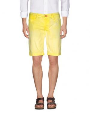 Бермуды JAGGY. Цвет: желтый