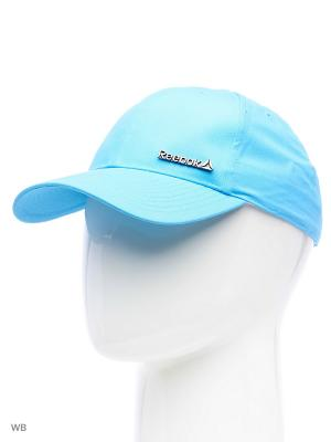 Кепка Reebok. Цвет: светло-голубой