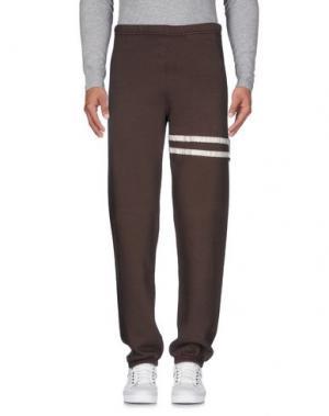 Повседневные брюки VIRTUS PALESTRE. Цвет: коричневый