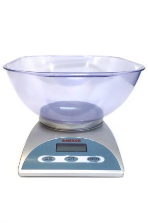 Кухонные весы 5 кг Bekker. Цвет: серебристый