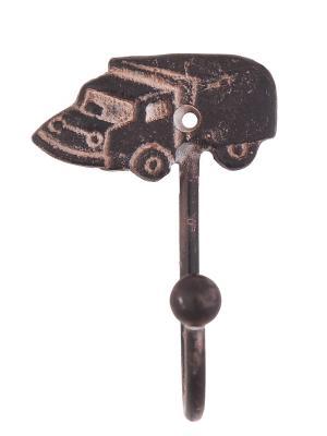 Вешалка-крючок, 6 шт./упак. ГАНГ. Цвет: темно-коричневый