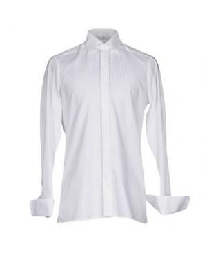 Pубашка OLYMP. Цвет: белый