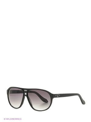 Солнцезащитные очки AN 738 01 Vivienne Westwood. Цвет: черный