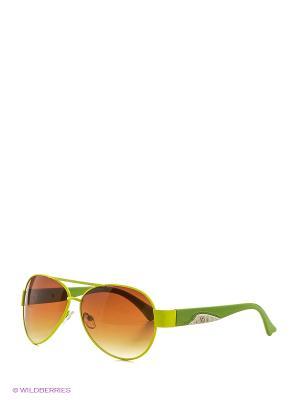 Солнцезащитные очки Vittorio Richi. Цвет: салатовый, зеленый