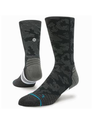 Носки RUN MENS HYSTERIC CREW (SS17) Stance. Цвет: черный, серый