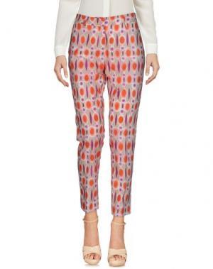 Повседневные брюки TRUE ROYAL. Цвет: лососево-розовый