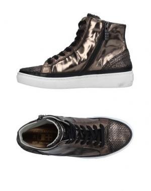 Высокие кеды и кроссовки D'ACQUASPARTA. Цвет: бронзовый