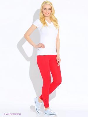 Леггинсы U.S. Polo Assn.. Цвет: красный