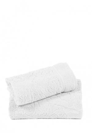 Комплект полотенец 2 шт. Bellehome. Цвет: белый