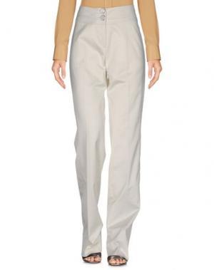 Повседневные брюки LAURÈL. Цвет: белый
