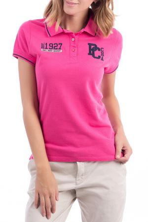 Рубашка-поло POLO CLUB С.H.A.. Цвет: fuchsia