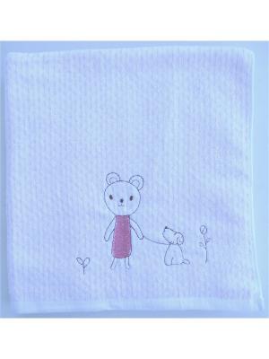 Полотенца банные A and C Collection. Цвет: розовый