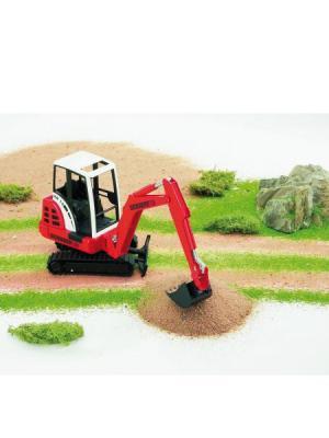 Трактор гусеничный Bruder. Цвет: красный