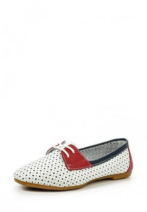 Ботинки Zenden. Цвет: белый