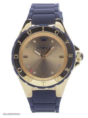 Часы Juicy Couture. Цвет: синий